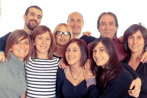 grote familie volwassenen